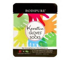 Bodipure keratinové rukavice a ponožky