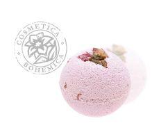 Cosmetica Bohemica - Šumivá koule do vany Růžové poupě 100g
