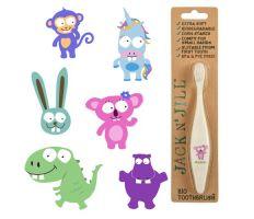 Jack n' Jill Bio Toothbrush - Dětský zubní kartáček
