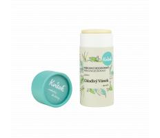 Kvítok Tuhý Deodorant Unisex 30ml - Chladivý vánek (papírová tuba)