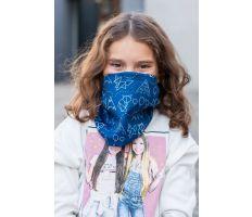 NanoSPACE Dětský Antivirový Šátek - Modrý