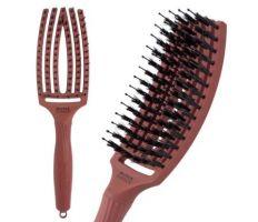 Olivia Garden Fingerbrush Blush Chocolate - Profesionální kartáč na vlasy