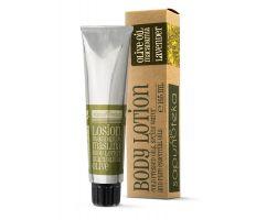 Sapunoteka Body Lotion Olive 165ml - Tělový krém s olivovým a makadamiovým olejem